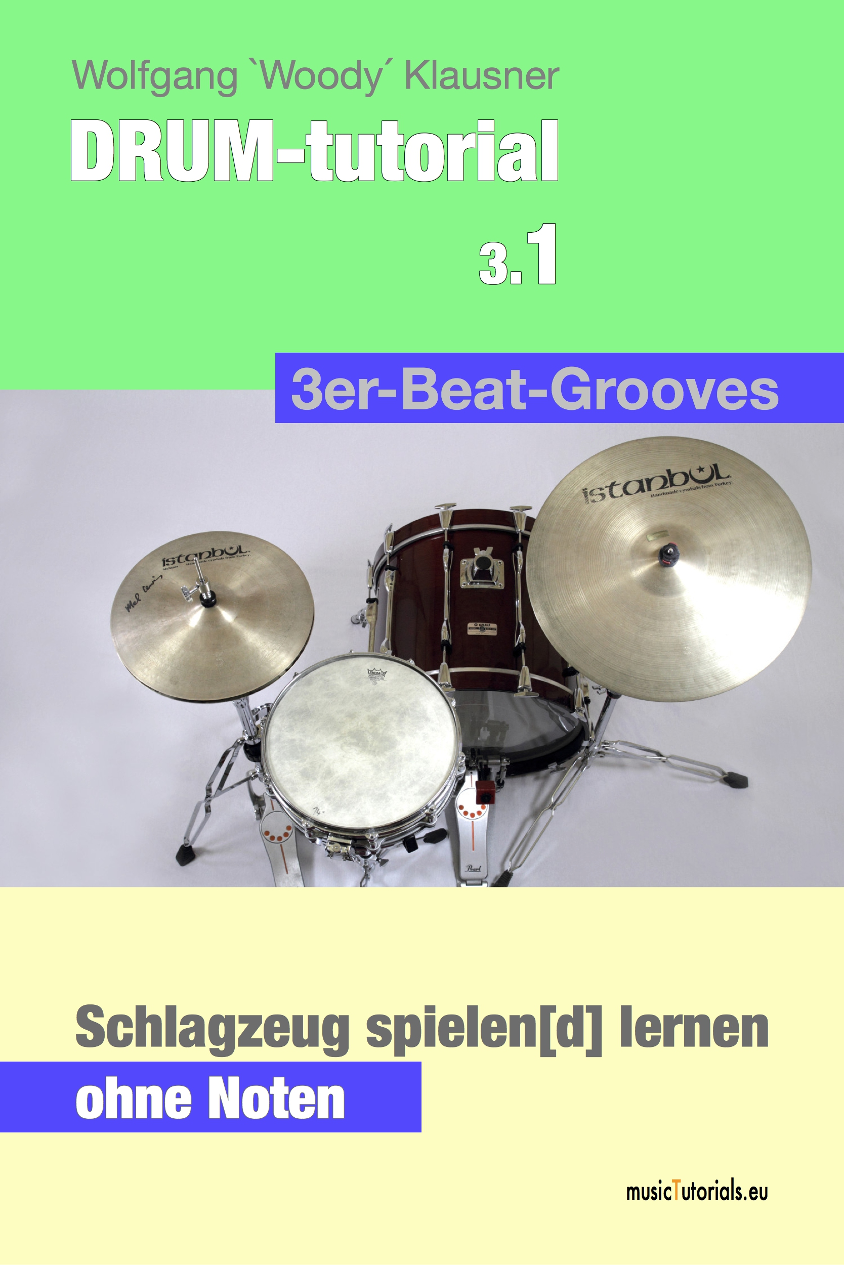 DRUM-kit course 3.1 - 3er-Beat-Grooves